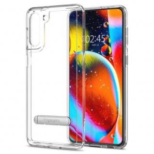Spigen Slim Armor Essential Case für Samsung Galaxy S21 Transparent Schutz Hülle