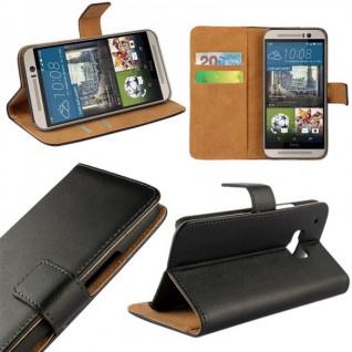 Schutzhülle Schwarz für Huawei Honor 8 Bookcover Tasche Hülle Wallet Case Flip