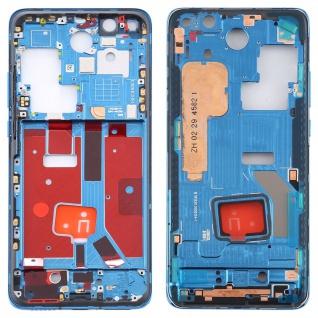 Mittelrahmen für Huawei P40 Pro Blau Middle Frame Rahmen Gehäuse Zubehör Ersatz