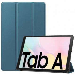Für Samsung Galaxy Tab A7 2020 3folt Wake UP Smart Cover Etuis Hülle Case Grün