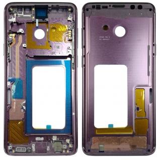Mittelrahmen Rahmen Kamera Gehäuse für Samsung Galaxy S9 Plus G965 G965F Lila