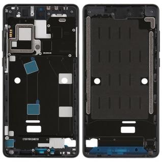 Gehäuse Rahmen Mittelrahmen Deckel für Xiaomi Mi MIX 2 Schwarz Reparatur neu