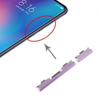 Für Xiaomi Mi 9 Sidekeys Seitentasten Lila Purple Ersatzteil Zubehör Reparatur - Vorschau 4