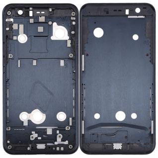 Gehäuse Rahmen Mittelrahmen Deckel kompatibel für HTC U11 Schwarz Reparatur Neu