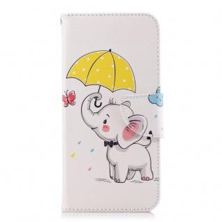 Tasche Wallet Book Muster Motiv 38 für Smartphones Schutz Hülle Case Cover Etui - Vorschau 2
