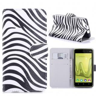 Schutzhülle Muster 7 für Wiko Lenny 3 Bookcover Tasche Hülle Wallet Case Etui