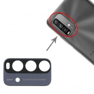 Kamera Linsen Abdeckung für Xiaomi Note 9 4G Ersatzteil Reparatur Schwarz