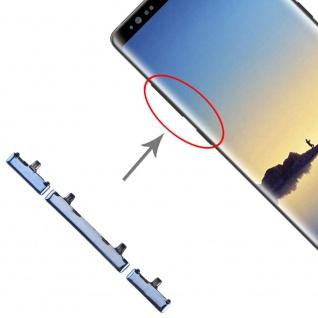 Für Samsung Galaxy Note 8 Sidekeys Seitentasten Blau Ersatz Zubehör Reparatur