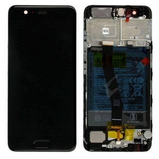 Huawei Display LCD Rahmen für P10 Service Pack 02351DGP Gold Batterie Flex Neu