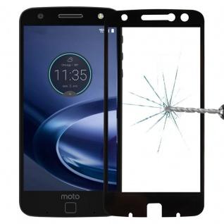 Für Motorola Moto Z Force 3D Premium 0, 3 mm H9 Schutzglas Schwarz Folie Schutz