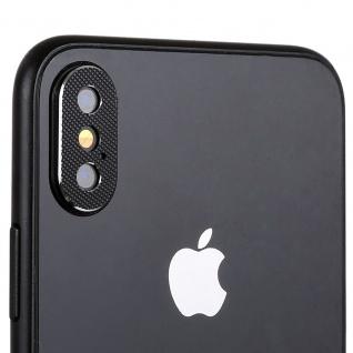 Kamera Cam Schutz Protection Ring für Apple iPhone XS Max 6.5 Zoll Schwarz 2Pcs