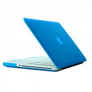 Schutzhülle Case Hülle Cover Schale Blau für Apple Macbook Pro 15.4 inch Neu Top