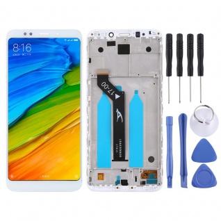 Für Xiaomi Redmi 5 Plus Reparatur Display LCD Komplett mit Rahmen Touch Weiß