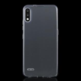 Für LG K22 Silikon TPU Schutz Transparent Handy Tasche Etuis