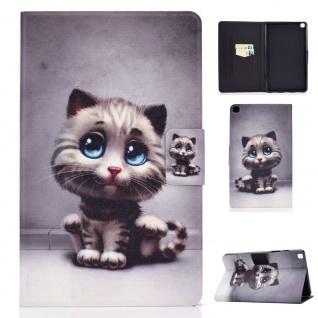 Für Samsung Galaxy Tab A7 2020 Motiv 59 Tablet Tasche Kunst Leder Hülle Etuis