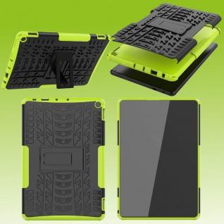 Für Amazon Fire HD 10 / 10 Plus 2021 Hybrid Grün Tablet Tasche Etuis Hülle Cover