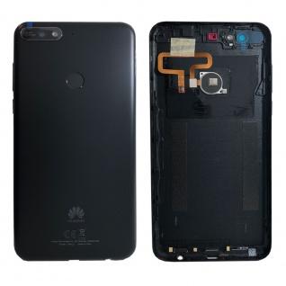 Huawei Akkudeckel Akku Deckel Batterie Cover Schwarz für Y7 2018 97070THF Neu