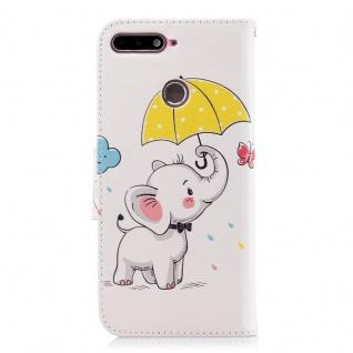Tasche Wallet Book Muster Motiv 38 für Smartphones Schutz Hülle Case Cover Etui - Vorschau 3