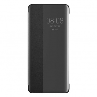Smart View Flip Cover Schwarz für Huawei P30 Pro 51992882 Case Tasche Etui Hülle