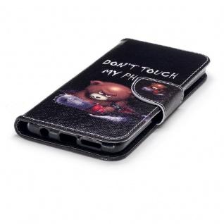 Tasche Wallet Book Cover Motiv 30 für Samsung Galaxy S9 G960F Hülle Case Etui - Vorschau 4