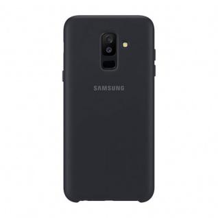 Samsung Dual Layer Cover EF-PA605CBEGWW für Galaxy A6 Plus 2018 Tasche Schwarz