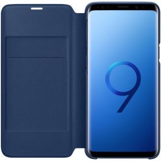 Samsung LED View Cover Schutz Tasche EF-NG960PLEGW für Galaxy S9 Hülle Blau Etui - Vorschau 2