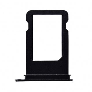 Nano Sim Karten Halter Adapter Sim Card Tray für Apple iPhone 7 & 7 Plus Schwarz