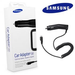 Original Samsung KFZ-Ladegerät Autoladegerät ECA-U16CBEGSTD 1A 1000mAh Micro USB Auto Ladegerät