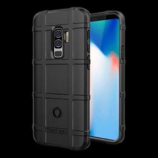 Für Samsung Galaxy S9 G960F Shield Series Outdoor Schwarz Tasche Hülle Cover Neu