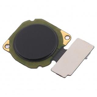 Home Button für HuaweiMate 10 Lite Schwarz Fingerabdruck Sensor Flexkabel Taste