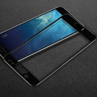 3D Full Hart Glas 0, 26 mm dünne H9 Schwarz für Samsung Galaxy J5 J530 Schutz Neu