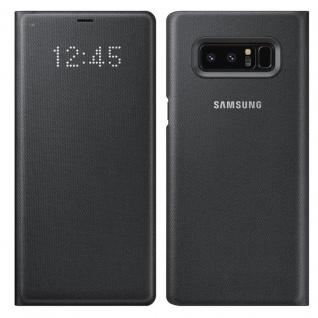 Samsung LED View Cover Tasche EF-NN950PBE für Galaxy Note 8 N950F Hülle Schwarz