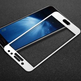 Full Hartglas 0, 26 mm dünne H9 Weiß für Samsung Galaxy J3 2017 Schutz Hülle