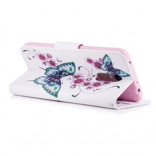 Für Huawei P30 Lite Kunstleder Tasche Book Motiv 31 Hülle Case Etuis Cover Neu - Vorschau 3