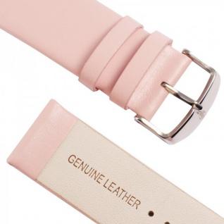Echtleder Leder Armband Rosa für Apple Watch Lederarmband 38 mm iWatch Zubehör - Vorschau 4