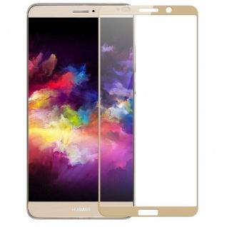 Premium 0, 3 mm gebogenes H9 Hartglas Gold Folie für Huawei Mate 10 Pro Schutz