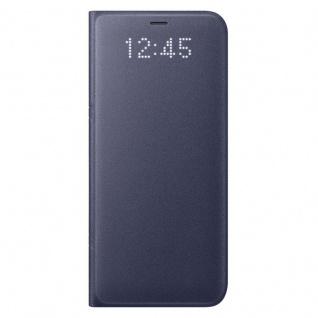Samsung LED View Cover Schutzhülle EF-NG950PV für Galaxy S8 Etui Hülle Violet