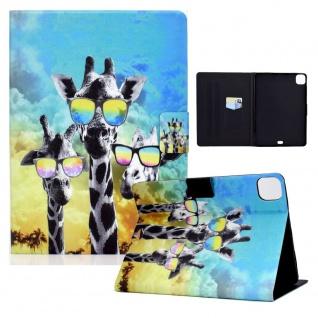 Für Apple iPad Pro 11.0 / Air 10.9 2020 Motiv 2 Tasche Kunst Leder Hülle Etuis
