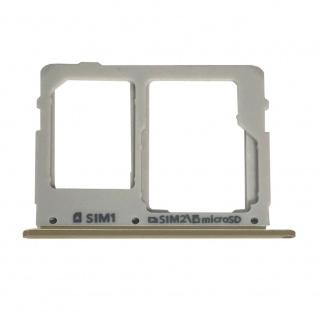 Sim Karten Halter für Samsung Galaxy Tab S5e T720 10.5 Gold Card Tray Ersatzteil