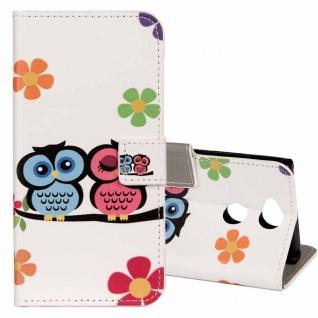 Tasche Wallet Book Cover Motiv 20 für Sony Xperia XA2 Hülle Case Etui Schutz Neu