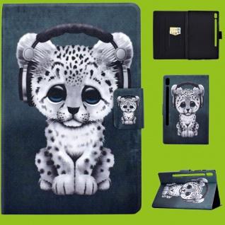Für Lenovo Tab M10 Plus 10.3 Zoll X606F Motiv 54 Tasche Kunst Leder Hülle Etuis