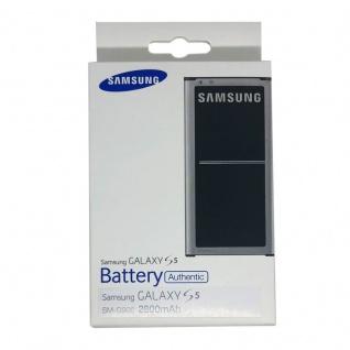 Original Samsung Akku EB-BG900BBEGWW für Galaxy S5 G900 G900F 3, 8V 2800 mAh BOX