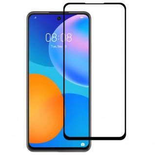 Für Huawei P Smart 2021 2x 3D Display Full H9 Hart Glas Schwarz Folie Panzer Neu