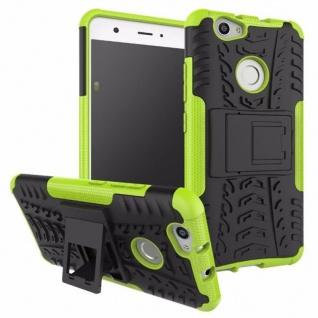 Hybrid Case 2teilig Outdoor Grün für Huawei Nova Tasche Hülle Cover Neu Schutz