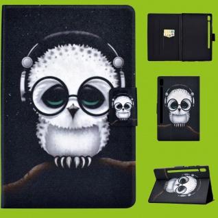 Für Lenovo Tab M10 Plus 10.3 Zoll X606F Motiv 55 Tasche Kunst Leder Hülle Etuis