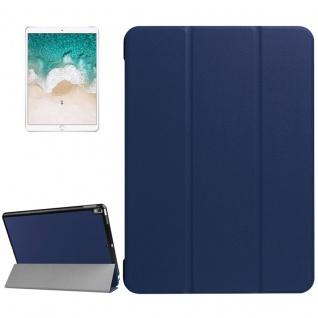 Smartcover Dunkelblau Cover Tasche für Apple iPad Pro 10.5 2017 Hülle Etui Case
