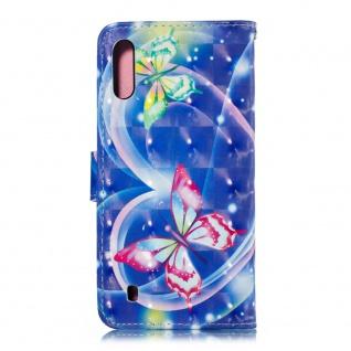 Für Samsung Galaxy A50 Kunstleder Tasche Wallet Motiv 34 Schutz Hülle Etuis Neu - Vorschau 3