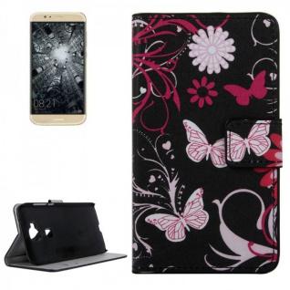Schutzhülle Muster 4 für Huawei G8 5.5 Zoll Bookcover Tasche Case Hülle Wallet