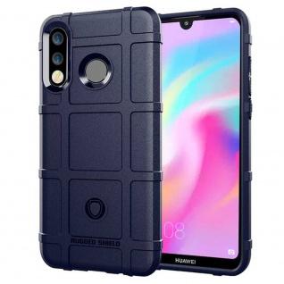 Für Huawei P30 Shield Series Outdoor Blau Tasche Hülle Cover Etuis Case Neu