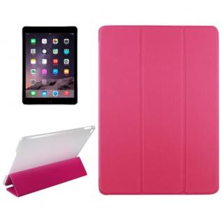 Deluxe Smartcover Schutz Case Etui Zubehör für Apple iPad Air 2 Hülle pink